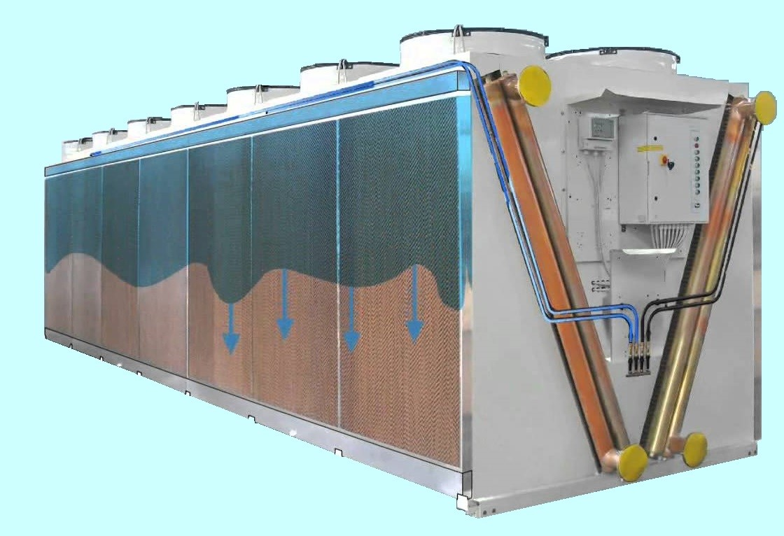 Chiller Condenser Precooling System